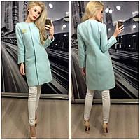 """Женское кашемировое пальто """"Шанель"""", в расцветках, фото 1"""