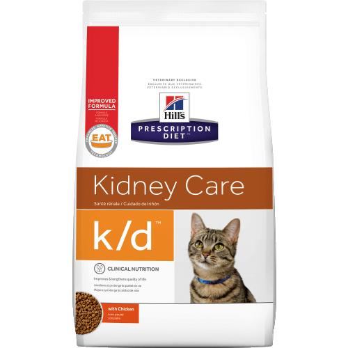 Hill's Prescription Diet k/d Feline - Сухий лікувальний корм для підтримки функції нирок та серця у кішок 1,5 КГ