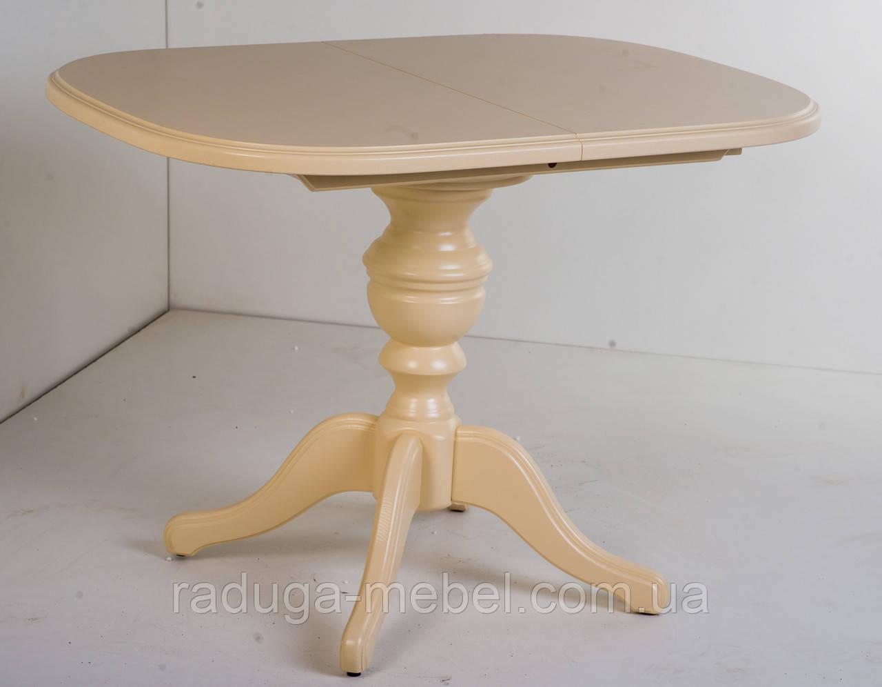 Стол деревянный Эмиль  ( слоновая кость )
