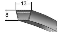 Ремень приводной клиновой профиль А на складе в Луцке