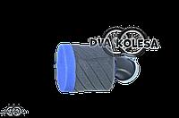 Фильтр воздушный  универсальный  d-35mm, косой  (черно-синий, #1)
