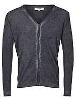 Мужской пуловер кардиган Mandy от !Solid (дания) в размере L