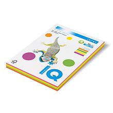 Набор бумаги кол. IQ, А4 / 80 (5х50 / 250л.), RB01, пастель