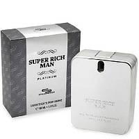 Мужская туалетная вода super rich man platinum 100 ml