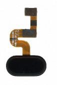 Шлейф кнопки меню для Meizu E2 чорного кольору