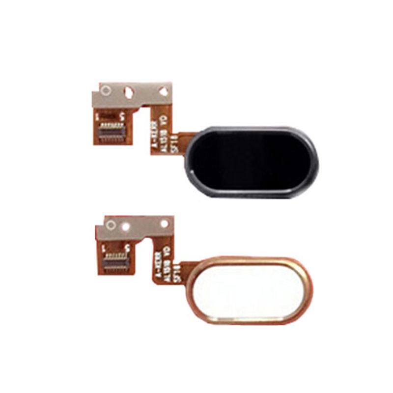 Шлейф кнопки меню для Meizu M3 Note 14 pin / L681H білого кольору з компонентами