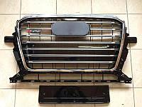 Решетка радиатора Audi Q5 2012-2015 стиль S-line