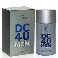 Мужская туалетная вода dorall collection 4u men 100 ml