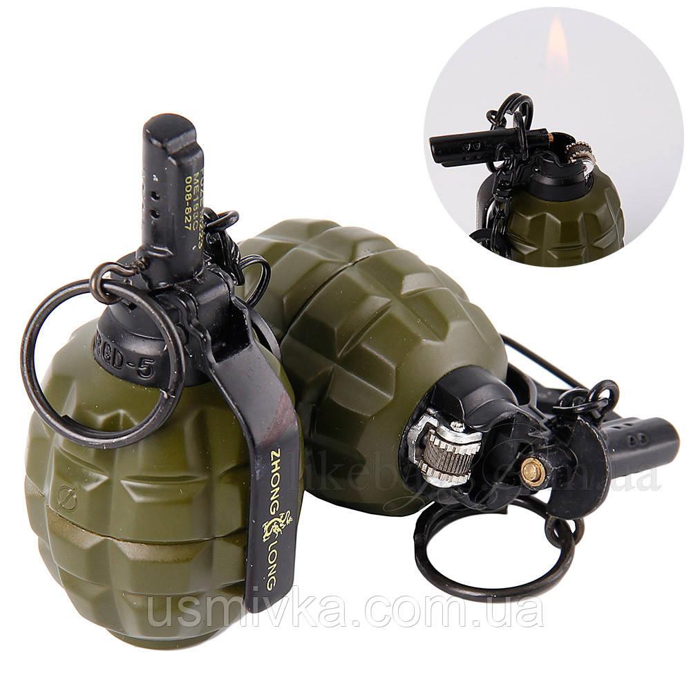 Зажигалка на подарок муляж гранаты ZG215400
