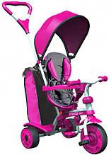 Дитячий велосипед Y STROLLY Spin Рожевий