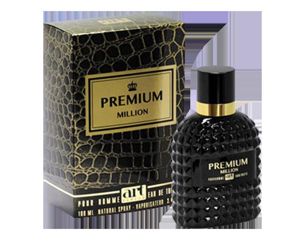 Мужская туалетная вода premium million 100 ml