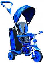 Дитячий велосипед Y STROLLY Spin Синя мозаїка