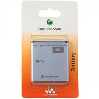 Аккумулятор Sony Ericsson BA750 1500 mAh LT15i, LT18i, X12i AAA класс Код: 653659844