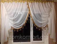 "Воздушная арка на кухню с бахромой ""Бабочка"" от производитель"