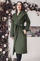 Стильное женское кашемировое пальто 42-60р
