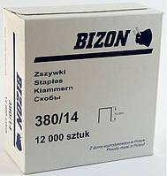 Скоба мебельная обивочная Бизон 380/14