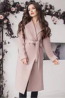 Элегантное женское кашемировое пальто 42-60р