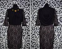 """Красивое женское платье """"набивное кружево"""" Турция 42 размер"""