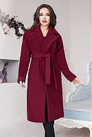 Эффектное женское кашемировое пальто 42-60р