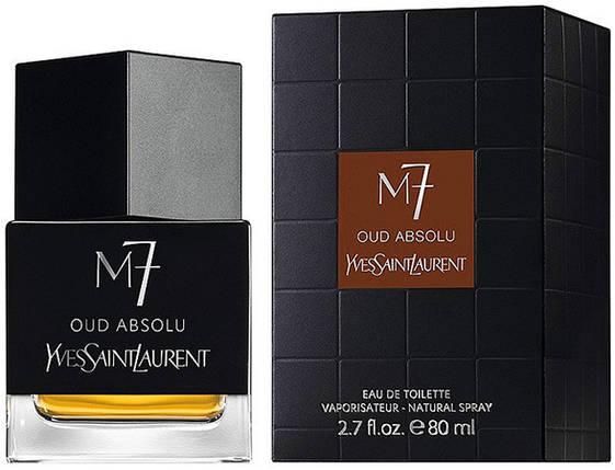Мужской аромат в стиле Yves Saint Laurent M7 Oud Absolu 80 ml, фото 2