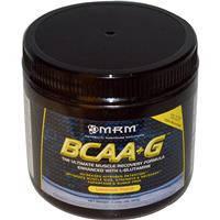 BCAA плюс Глутамин, MRM, С лимонным вкусом,  180 г