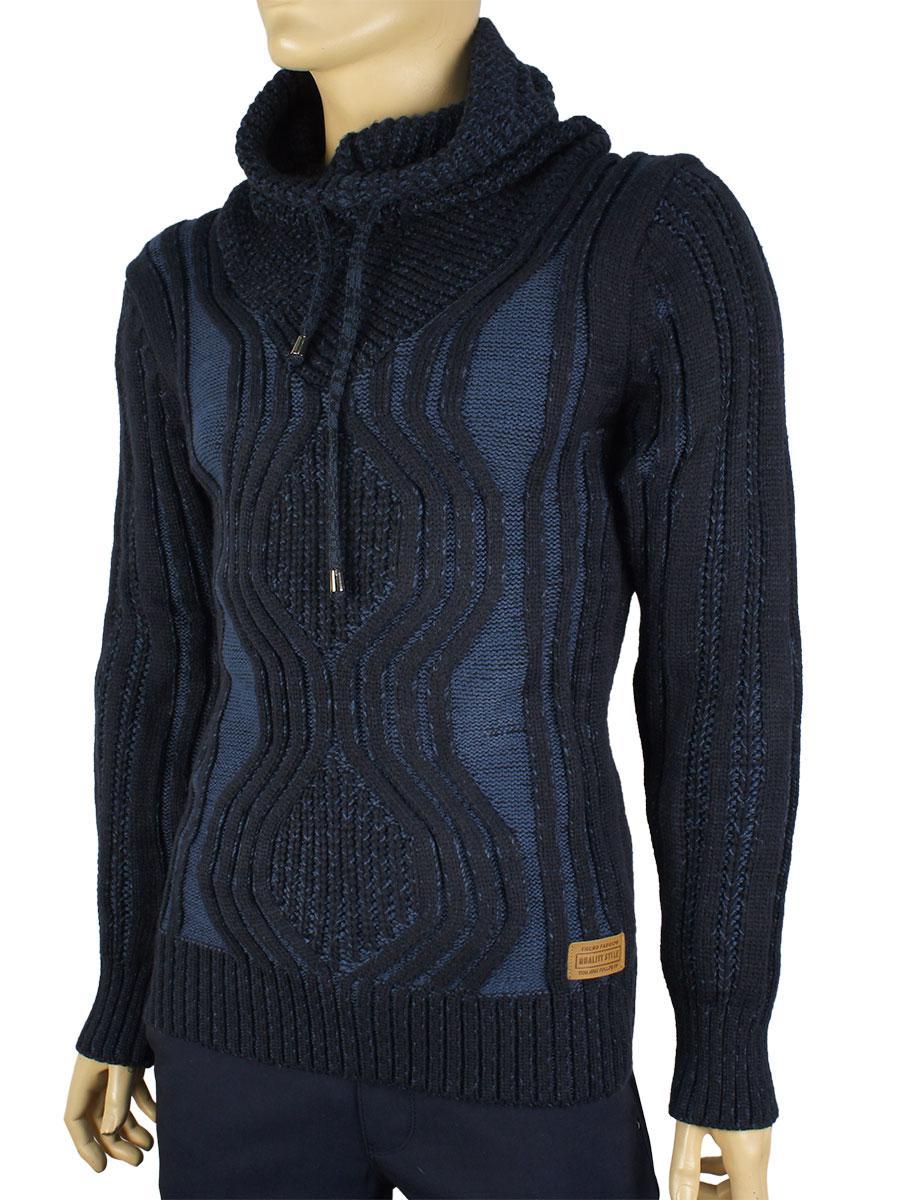 В'язаний светр Expand (гольф зі шнурком) 3026 Н