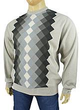 Чоловічий светр великого розміру King Wool 403