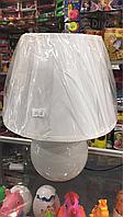 Настольная лампа, декор для дома, цвет белый