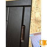 """Входная дверь в квартиру серии """"Акцент"""" Квадро (венге), фото 3"""