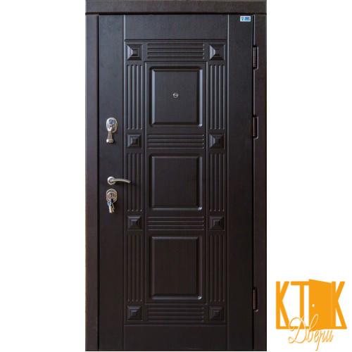 """Входная дверь в квартиру серии """"Акцент"""" Квадро (венге)"""