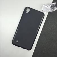 Силиконовый TPU чехол JOY для LG X Style (K200DS) черный