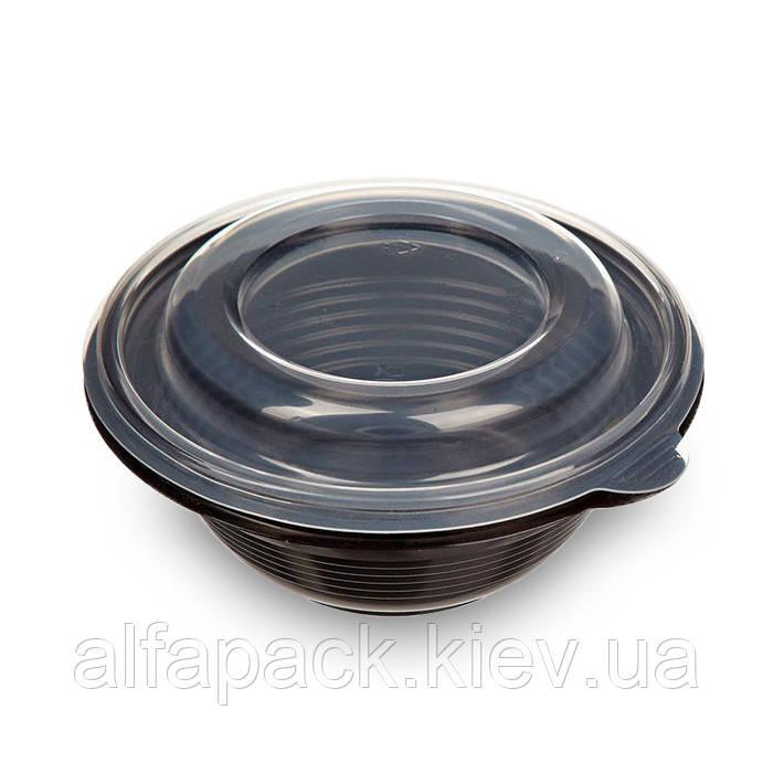 Емкость для супа ПР-МС-350 черная
