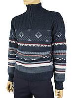 В'язаний светр чоловічий Turhan 381 Н (на змійці)