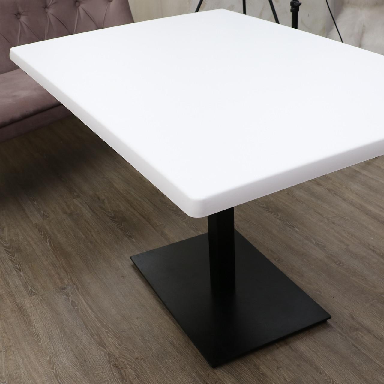 Столешница Topalit белая Pure White Pure White 60 см круглая