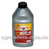 Тормозная жидкость PLAZMA Рось Дот-4 (0,39 кг.)