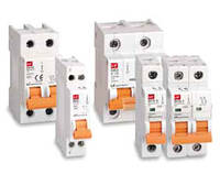 Модульні автоматичні вимикачі BKN-c, крива С, полюс 1-3, 6кА