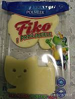 Сыр Сырная нарезка Polmlek Junior 150г в форме мишек , кошек для детей