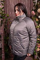 Куртка с потайным капюшоном больших размеров, с 48 по 82 размер, фото 1