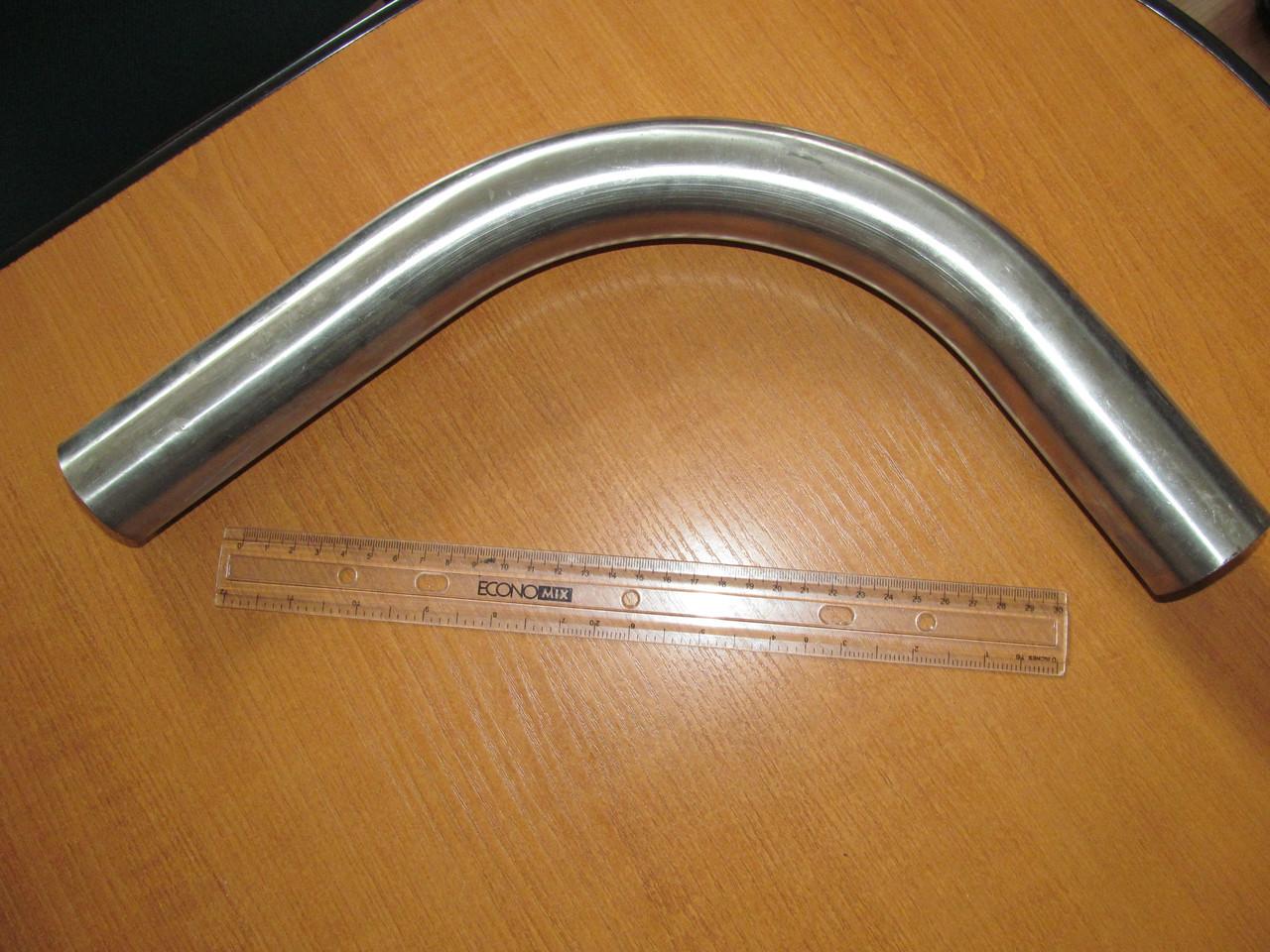 Уголок н/ж 90* AISI 304 DIN 1 (45х1.5) для молокопровода