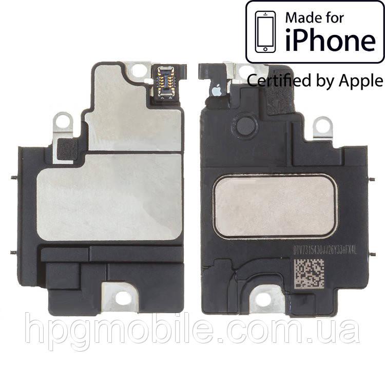 Звонок для iPhone X, нижний Полифонический (Buzzer), в рамке, с разборки, оригинал 100%