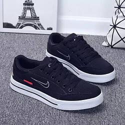 Кеды Nike Supreme SB Black Черные мужские реплика