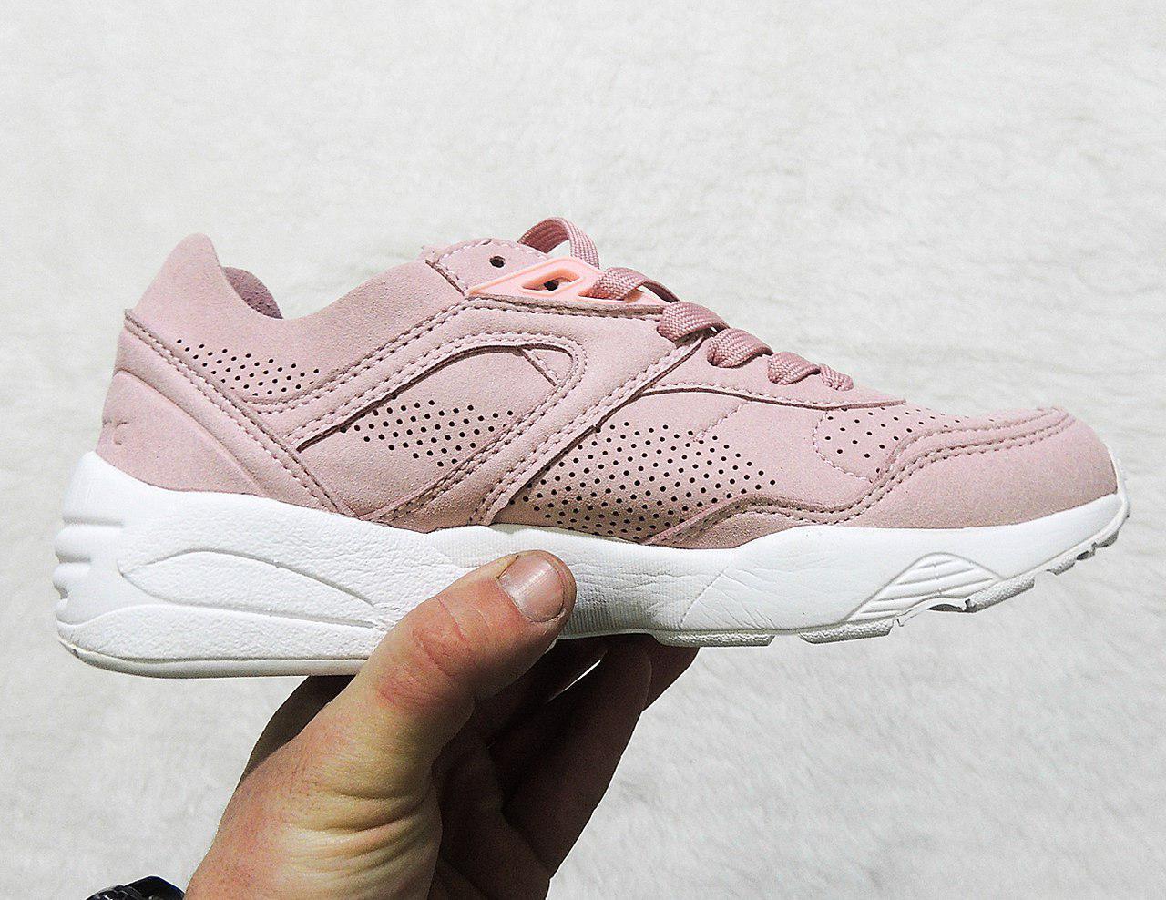 52fd38c2a670 Женские кроссовки Puma Trinomic R698 Soft Pack Pink топ реплика -  Интернет-магазин обуви и