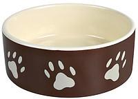 Trixie  TX-24531 миска для собак   (0.3 l/ø 12 cm) керамика