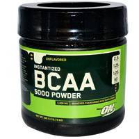 BCAA 5000 порошок, Optimum Nutrition, Без подсластителей, 345 г