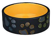 Trixie TX-24776 Миска керамическая для собак Jimmy 1,5 l/ø 20 cm, фото 2
