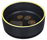 Trixie TX-24778 миска  керамическая  с резинкой (0,75 л / д 16см), фото 2