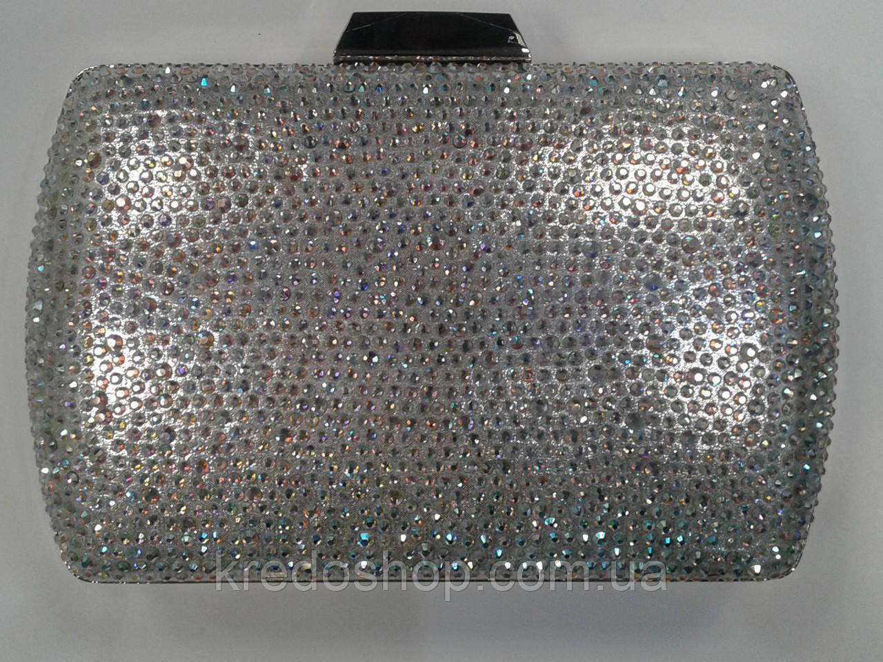 1d418e46b930 Вечерний клатч серебро в камнях каркасный красивый.(Турция) - Интернет- магазин сумок
