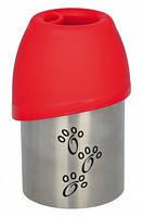 Trixie TX-24606 бутылка дорожная+миска (сталь/пластик) 750мл, фото 2