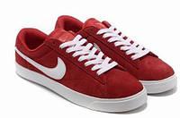 Кеды Nike Blazer Low Red Красные женские