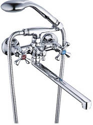 Смеситель для ванны Zegor DTZ7-А 827 ш/п с плоским изливом